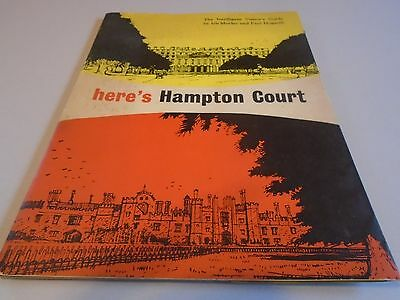 vintage guide to Hampton court london
