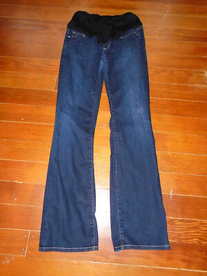 Citizens of Humanity Maternity Jeans Sz 29 Full Belly Dark Wash