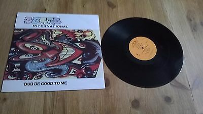 "Dub Be Good To Me by Beats International 12"" Single Picture Sleeve"