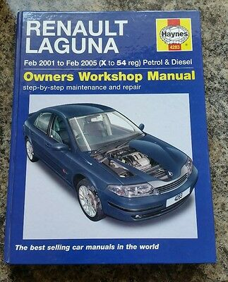 Renault Laguna Haynes Manual 01-05 no.4283