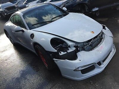Porsche 911 1985 Carrera Targa Chassis Body Shell Project Rolling Salvage