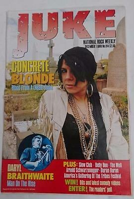 JUKE Magazine  #814  December 1  1990  Concrete Blonde - Daryl Braithwaite