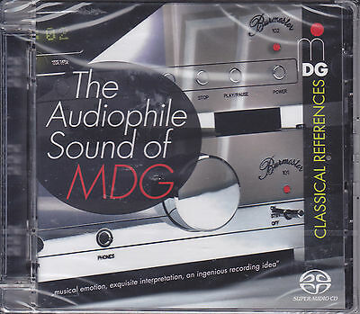 """""""The Audiophile Sound of MDG"""" Classical References Hybrid Multi-Channel SACD CD"""