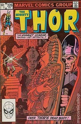 Thor (1962-1996 1st Series Journey Into Mystery) #326 VF