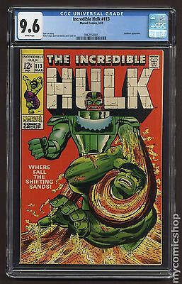 Incredible Hulk (1962-1999 1st Series) #113 CGC 9.6 (0962550005)