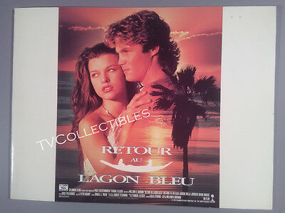 Pressbook~ RETURN TO THE BLUE LAGOON ~1991 ~Milla Jovovich ~Brian Krause ~French