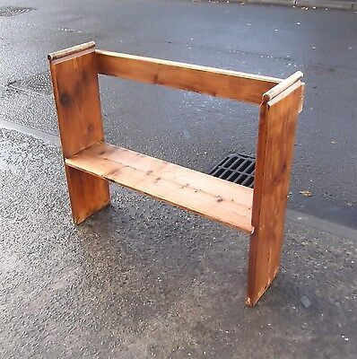 Small Reclaimed Pine Church Bench / Pew / Settle #3     Delivery Available