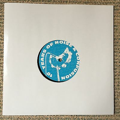 """Oasis - 10 Years Of Noise & Confusion - Rare 2001 UK 4trk promo only vinyl 10"""""""
