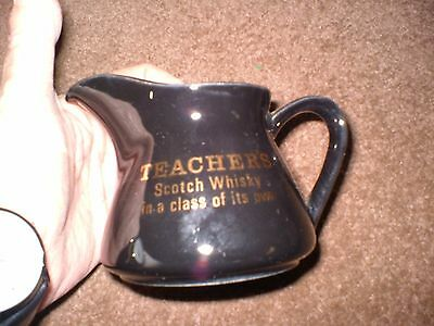 "Breweriana Collectors Small Water Jug ""teachers Scotch Whisky""."