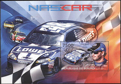 Nascar / Jimmie Johnson / Block  Burundi 2012 / Mnh