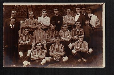 Abertillery Prims. A.F.C. 1913-14     -      real photographic postcard