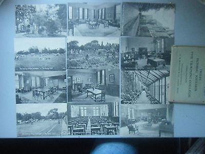 Set of 12 Early Postcards The Training College,Darlington