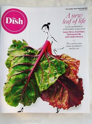 DISH Jan 2017 The Healthy Issue Tom DALEY Candice BROWN Ella MILLS Jamie OLIVER