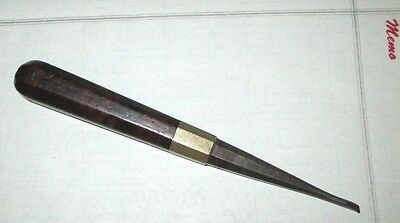 Antique tool Unusual ~ hand tool carving ? Rose wood VERY NICE Well made