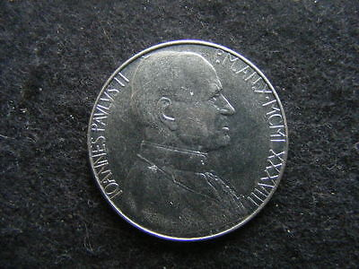 VATICAN CITY, 100 Lire, 1988, steel