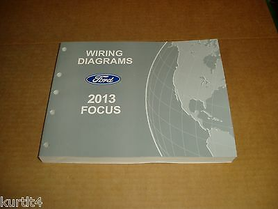 2013 Ford Focus WIRING DIAGRAM service shop dealer ford 2013 taurus police interceptor sedan wiring diagram 2013 ford taurus police interceptor wiring diagram at bakdesigns.co
