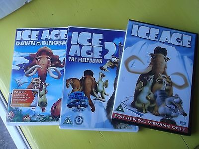 Ice Age 1, 2 and 3