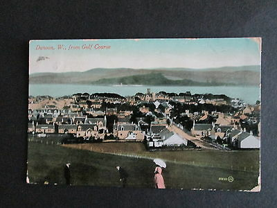 Dunoon, Scotland From The Golf Course - Postally Used 1911