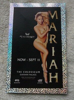 Mariah Carey 2016 Summer To Sept 11 Las Vegas Hotel & Casino Show Standee