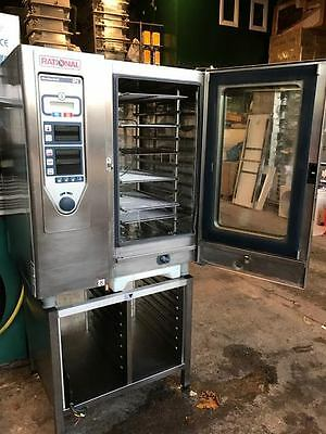 Rational Cpc 101 Electric Combi Oven,  10 Grid,  With Stand, Self Cleaning