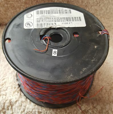 Lucent  Approx 1150 Ft Roll Of 2 Pr 24 Awg Cross Connect Wire  (04)
