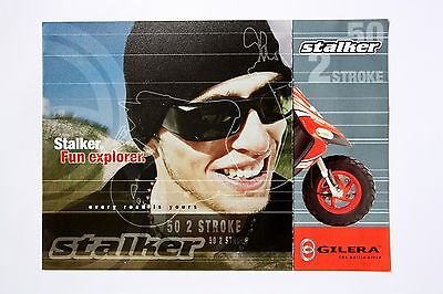 Gilera Stalker Scooter Sales Brochure