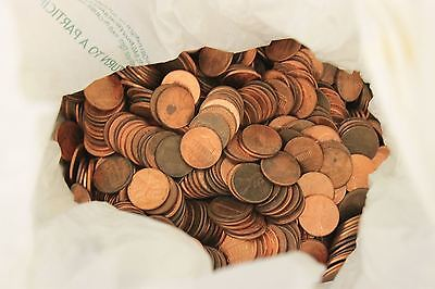 $240 Lincoln Pennies 24,000 Coins 1982-Current Years Circulated Currency