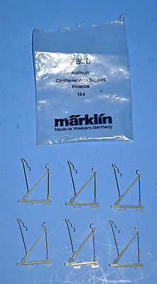 Lot Of 6 Ea Marklin #7525 Cantilever Arms For Catenary Masts New In Open Package