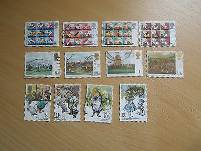 1979 Commemorative Stamps Used, Off Paper - 5 Sets