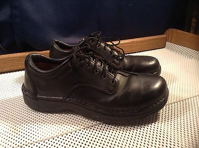 Red Wing Shoes 6703 Men's Steel Safety Toe Work Shoes Black Size 8.5 D