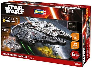 Revell - Star Wars E7 - Build and Play - Millennium Falcon - Model Kit