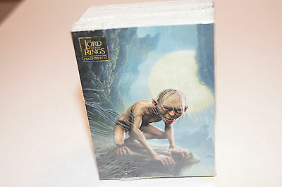LORD OF THE RINGS: MASTERPIECES SERIES 1 2006 Complete ALL ART Card Set