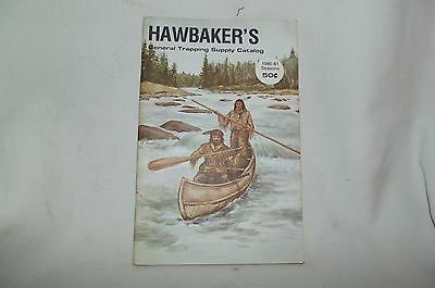 Vintage 1980-81, S. Stanley Hawbaker's Trapping Supply Catalog