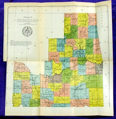1906 SEQUOYAH Constitution for Proposed State from Indian Territory E. Oklahoma