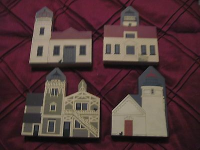 4 Cats Meow from West Coast Lighthouse Series: Mukilteo,Heceta Head,Point Pinos+