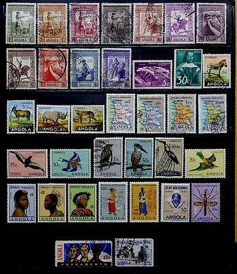 Portuguese Angola: Classic Era To 1950's Stamp Collection