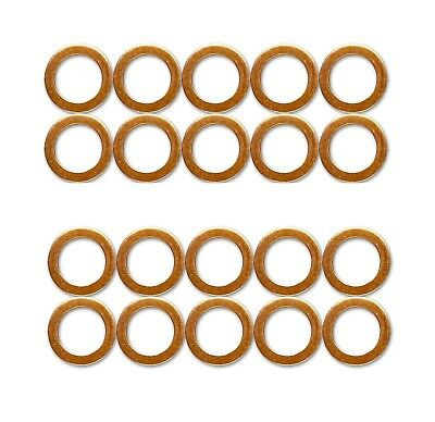 20x M10 Standard Copper Washers for HEL Braided Clutch Brake Hoses stainless