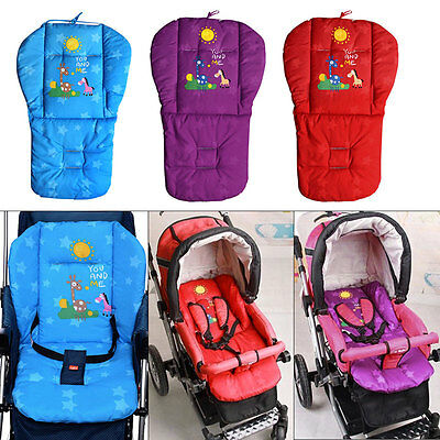 AU Baby Thicken Stroller Pushchair Cushion Pram Padding Liner Car Seat Pad Cover