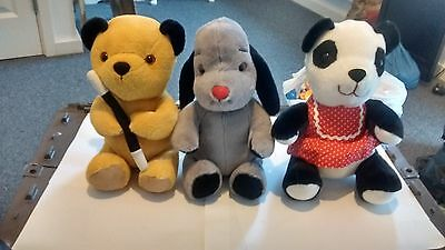 Sooty Sweep And Soo Soft Toys 12 Inches High Made By Cadells 2008/ 2009