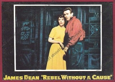 JAMES DEAN 06 ATTORE ACTOR CINEMA MOVIE - Rebel Without a Cause FILM Cartolina