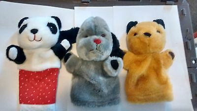 Sooty Sweep And Soo Hand Puppets Collection Of 5 Different Made By Cadells