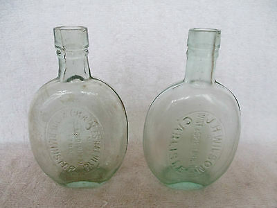 2 Carlisle Spirit Flasks