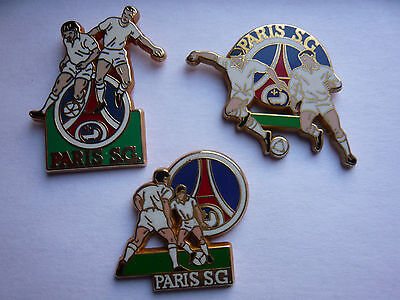 lot 3 pin s ARTHUS BERTRAND special PARIS ST GERMAIN  different
