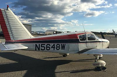 1962 Piper Cherokee PA28-160 IFR currently flying, well maintained, NO RESERVE!