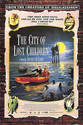 The City of Lost Children (1995) Reproduction Movie Poster - Ron Perlman
