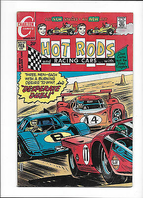 "Hot Rod & Racing Cars #112  [1972 Gd+]  ""desperate Duel!"""