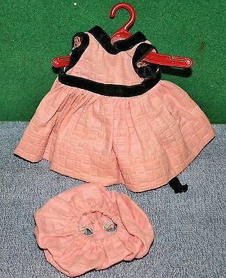 "Vintage 8"" Vogue Ginny Doll - Original 1950's Dress Tagged Outfit"