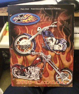 PRO-ONE MANUFACTURING (MOTORCYCLES) CATALOG (Illustrated,Models)