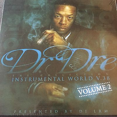 Dr. Dre: The Collection - Instrumental World Vol. 38 - Volume 2 BRAND NEW 2 x LP