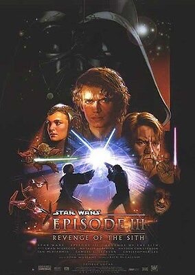 Star Wars: Episode III - Revenge of the Sith (2005) Reproduction Movie Poster